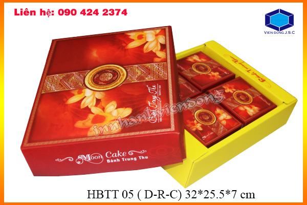 Mẫu hộp đựng bánh trung thu có sẵn tại xưởng | Địa chỉ bán hộp đựng hoa đẹp | In nhanh Ha Noi